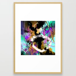 In the Midst of it Framed Art Print