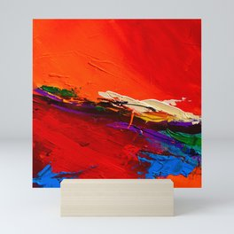RED SENSATIONS Mini Art Print