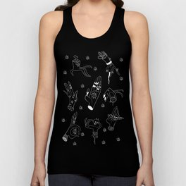 Eye Gotta Hand It To You (Hello Darkness Edition) Unisex Tank Top
