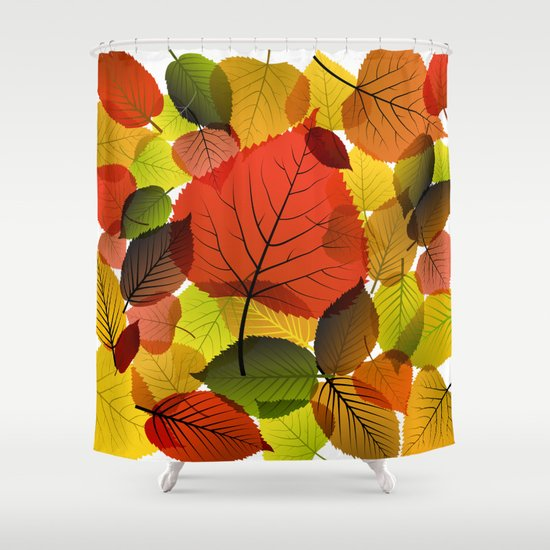 AUTUMN IS BACK Shower Curtain