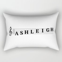 Name Ashleigh Rectangular Pillow