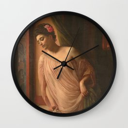 Edward Poynter - Asteri Wall Clock