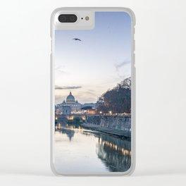 Roma-Vaticano Clear iPhone Case