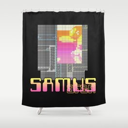 Zebes; 2075 CC Shower Curtain
