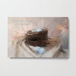 Bird Nest 1 Metal Print
