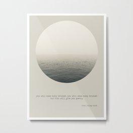 yrsa daley-ward 3 Metal Print