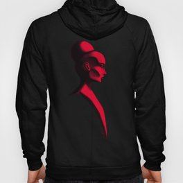 Red Cameo Hoody
