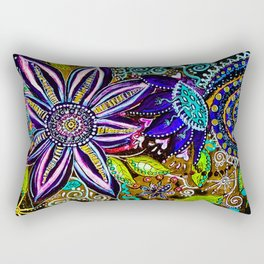 Flora and Fauna Rectangular Pillow
