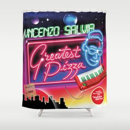 Greatest Pizza Shower Curtain