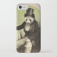 panda iPhone & iPod Cases featuring Proper Panda by Chase Kunz