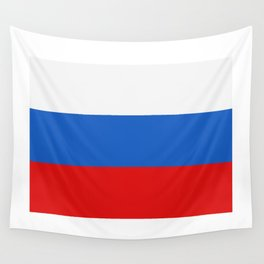 Russia flag Wall Tapestry