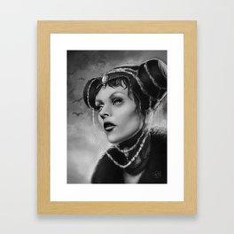 Vampire Queen Framed Art Print