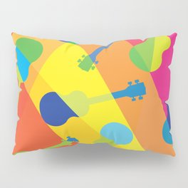 ukulele pattern Pillow Sham