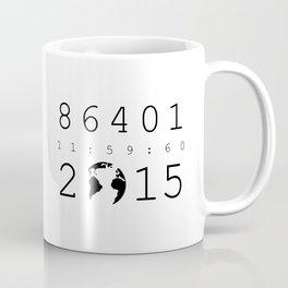 86401 Leap Second 2015 Coffee Mug