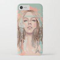 dreamcatcher iPhone & iPod Cases featuring Dreamcatcher by Chelsea Hantken