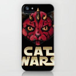 Cat Maul iPhone Case