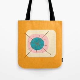 Flower Eggs Yellow Tote Bag