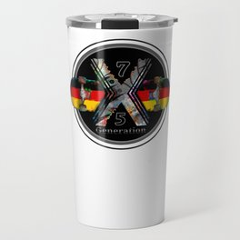 1975 Generation X German Skateboard Travel Mug