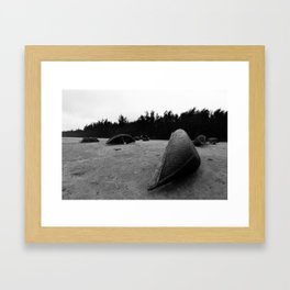 Fishing Boats Framed Art Print