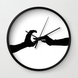 Letter G - GoldShade Wall Clock