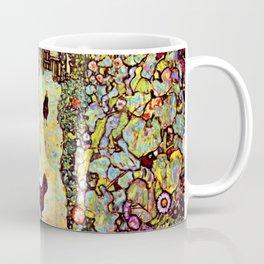 Gustav Klimt Garden with Roosters Coffee Mug