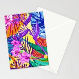 Maximalist Tropical Foliage Stationery Cards