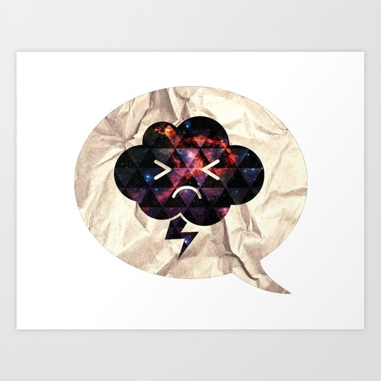 Cloudlet mood Art Print