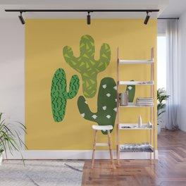 Cactus (Minimal) Wall Mural