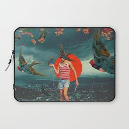 The Boy and the Birds Laptop Sleeve