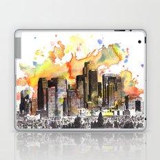 Los Angeles Cityscape Skyline Painting Laptop & iPad Skin