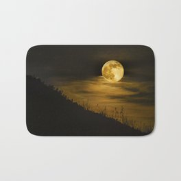 Caught Me a Super Moon Bath Mat