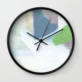 Square Fields Wall Clock
