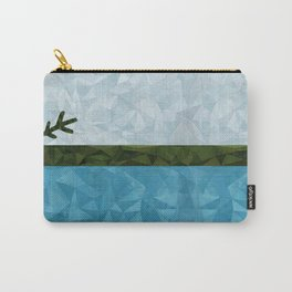 Geo Labrador Flag Carry-All Pouch