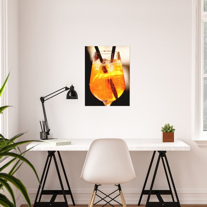 Cheers! Cocktail Drink #decor #society6 #buyart Poster