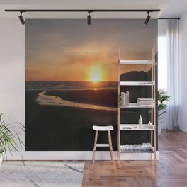 Where the river meets the Sea.... Wall Mural