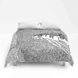 Kraken Shrimp Comforters