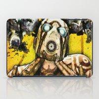 borderlands iPad Cases featuring Borderlands Psycho by Joe Misrasi