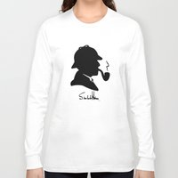 conan Long Sleeve T-shirts featuring World's Greatest Detective by Irina Chuckowree