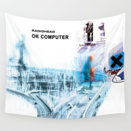 Ok computer Wall Tapestry