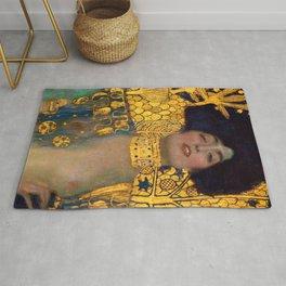 """Gustav Klimt """"Judith I"""" Rug"""