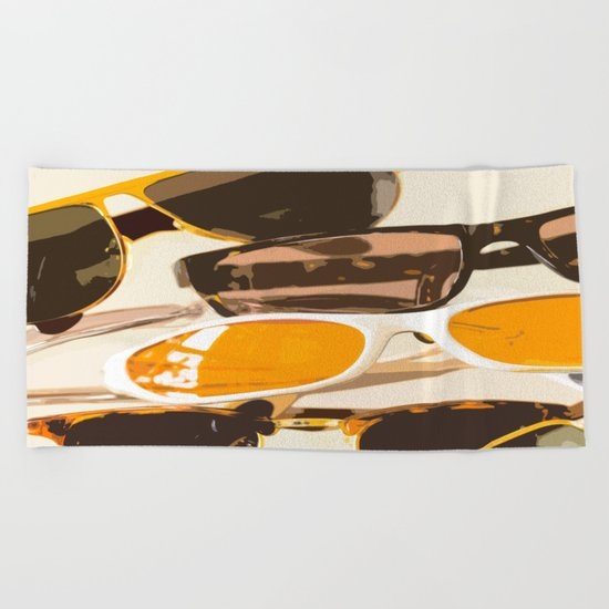 Let the sun shine - welcome spring and summer! Beach Towel