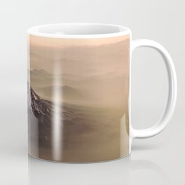 The West is Burning - Mt Shasta - nature photography Coffee Mug