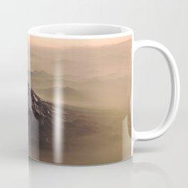The West is Burning - Mt Shasta - nature photography Coffee Mug