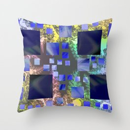 quadra Throw Pillow