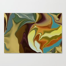 Abstract With Mood Canvas Print