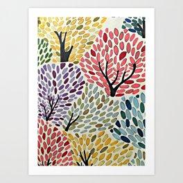 Das Baum Art Print