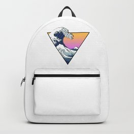 Great Wave Aesthetic Backpack