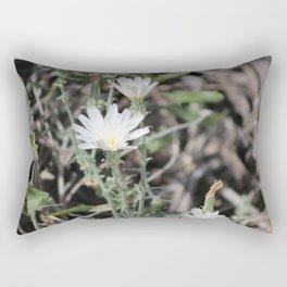 Desert Chicory Coachella Wildlife Preserve 2 Rectangular Pillow