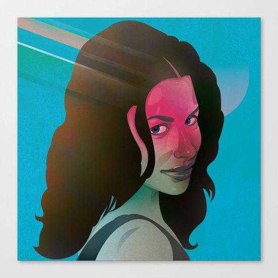 Classy- Evangeline Lilly Canvas Print