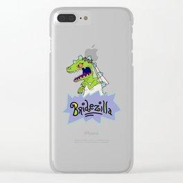 Rugrats Bridezilla Reptar Clear iPhone Case